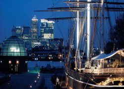 Cutty Sark - venue by the river
