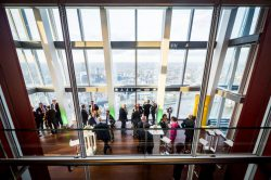 The Shard - rooftop venue with a landscape view